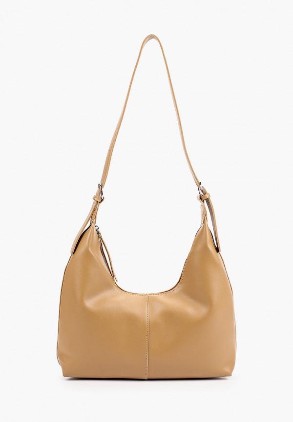 женская сумка с ручками bradex, бежевая