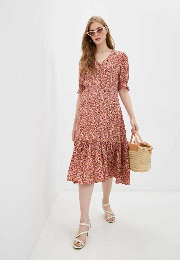 женское повседневные платье incity, разноцветное