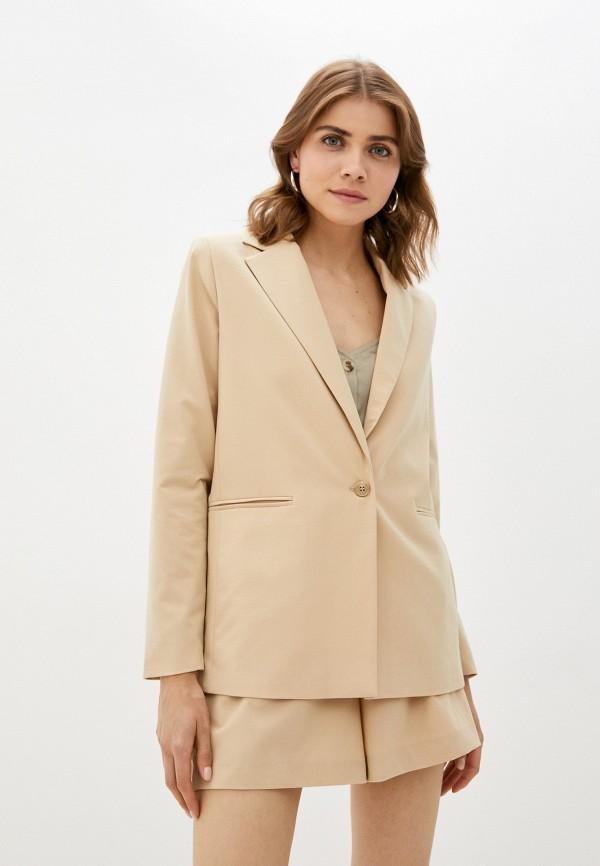 женский пиджак incity, бежевый