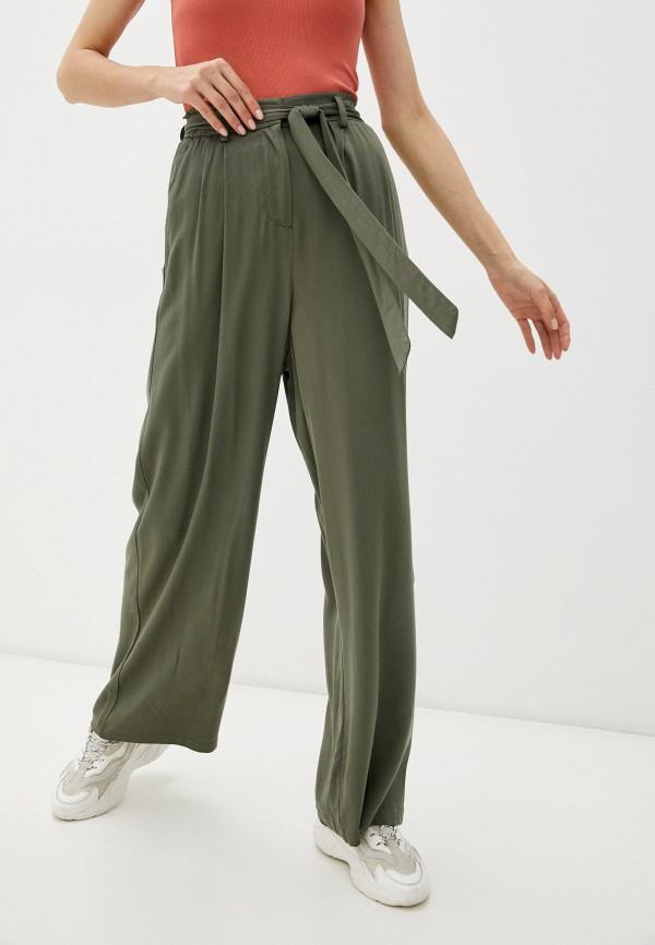 женские повседневные брюки incity, хаки