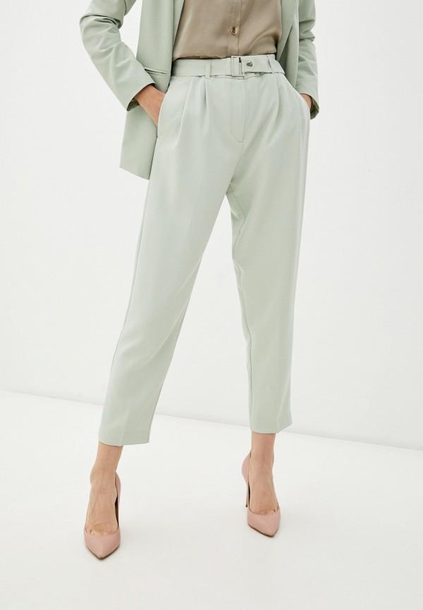женские повседневные брюки incity, бирюзовые