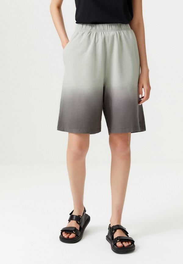 женские повседневные шорты sela, зеленые