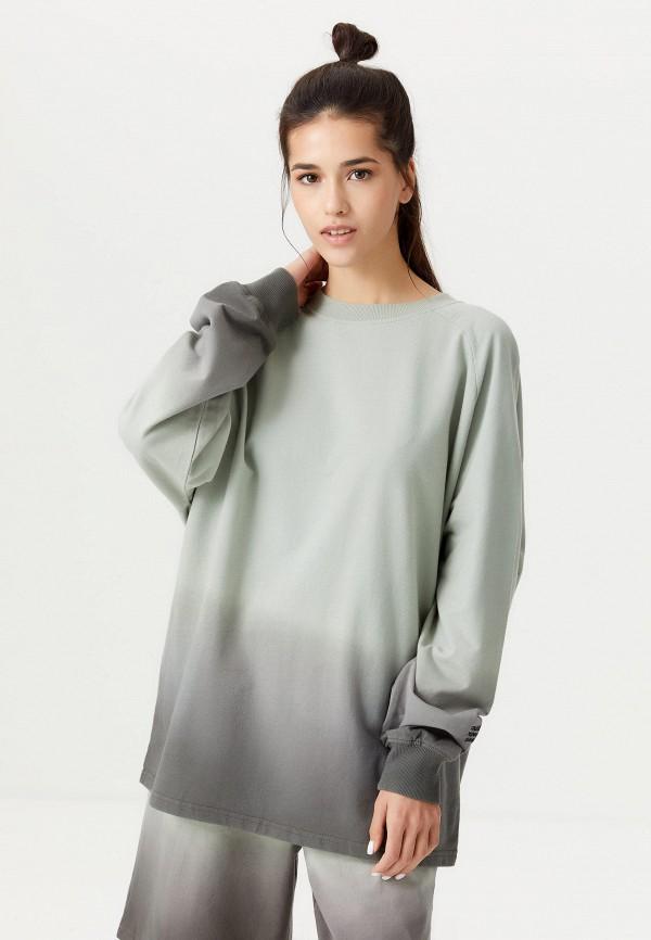 женский свитшот sela, зеленый