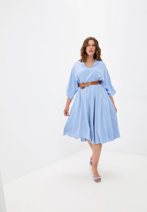 Платье Grafinia голубого цвета