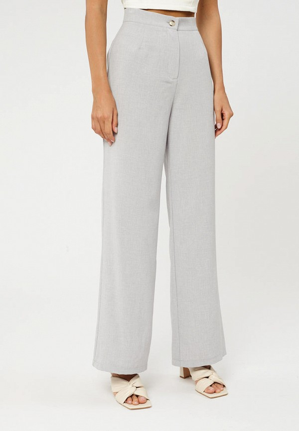 женские повседневные брюки suara femme, серые