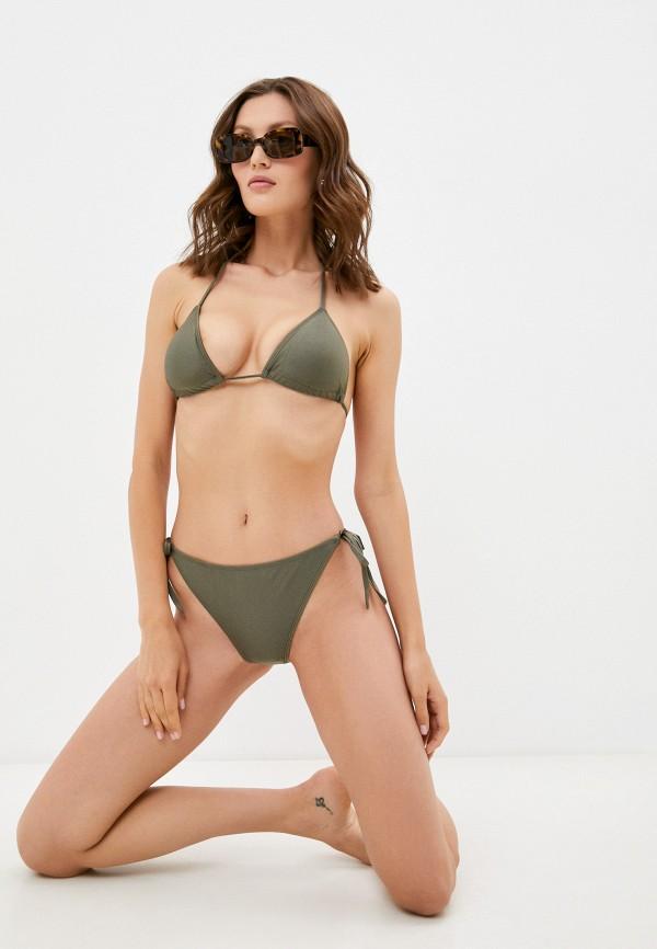 женский купальник diciotto, хаки