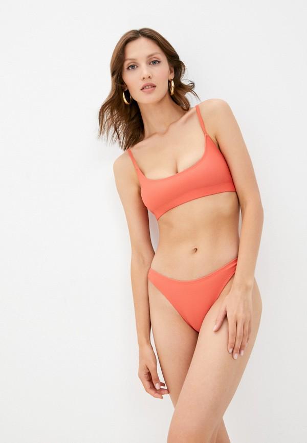 женский купальник diciotto, оранжевый