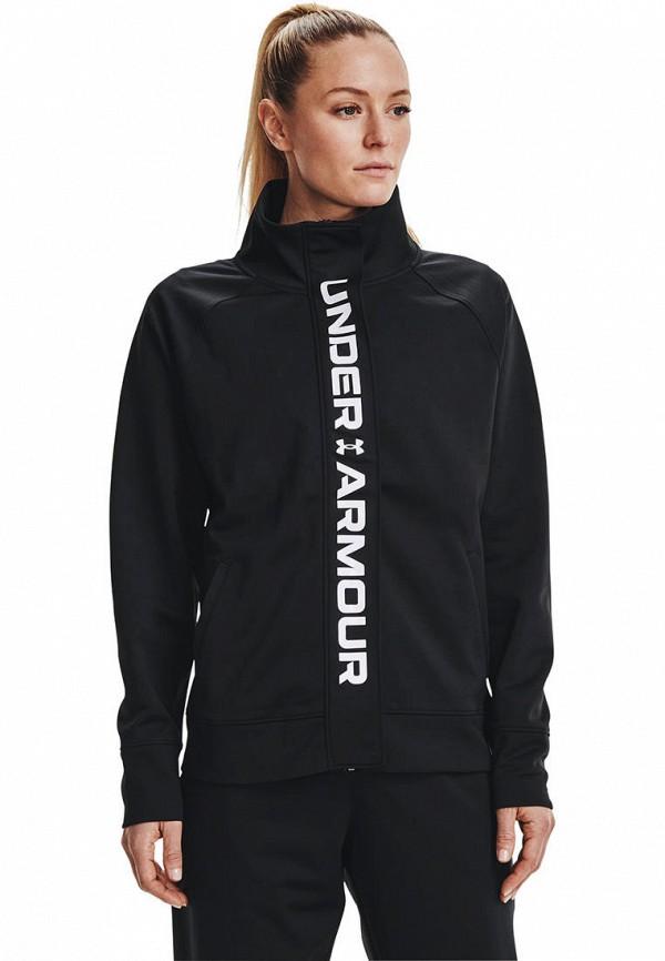 женская водолазка under armour, черная