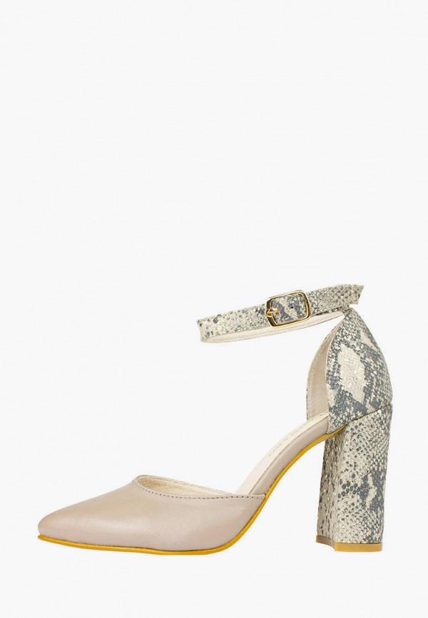 женские туфли alromaro, бежевые