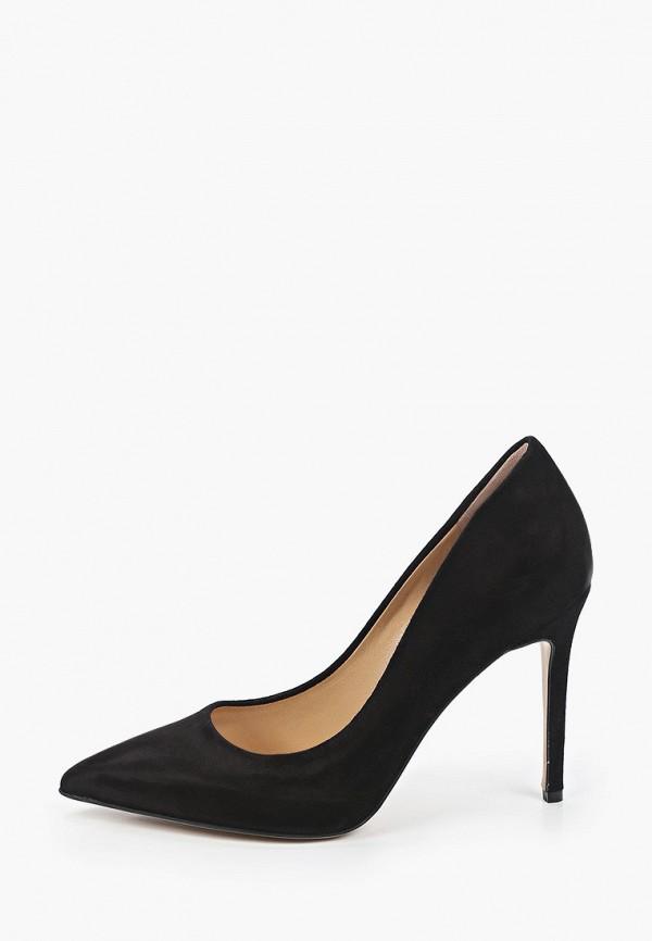 женские туфли-лодочки grand style, черные