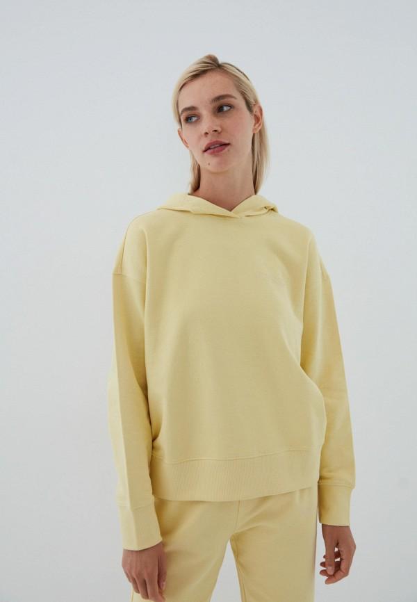женские худи zarina, желтые