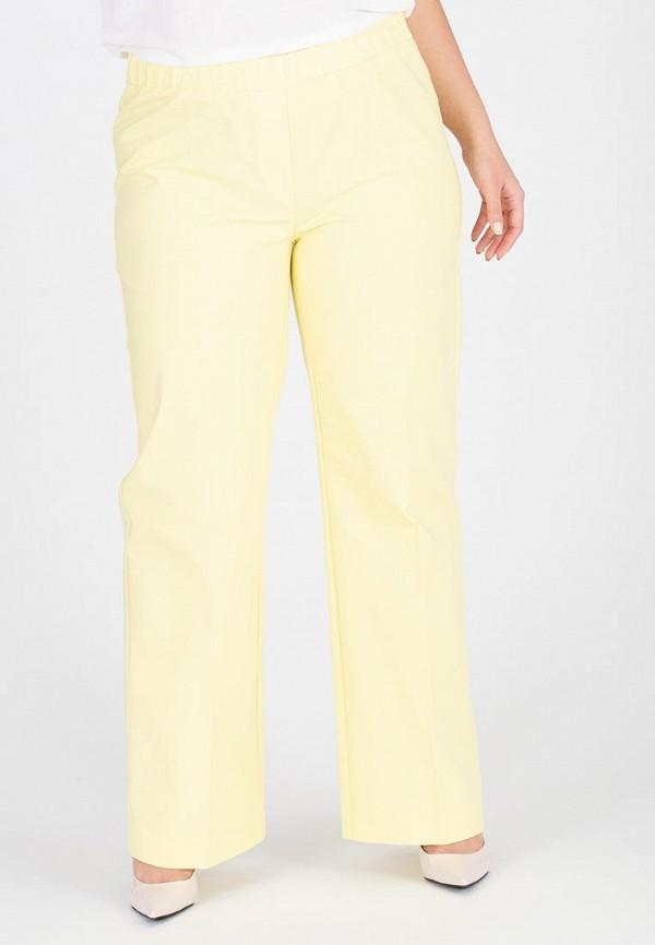 женские брюки джоггеры eliseeva olesya, желтые