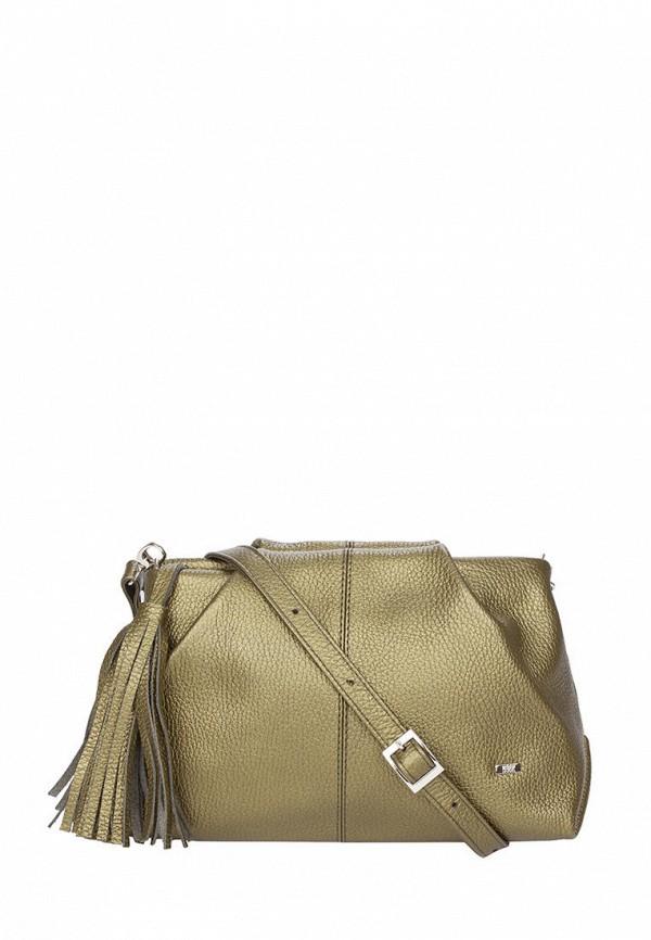 женская сумка через плечо esse, золотая