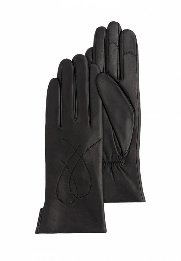 женские кожаные перчатки michel katana, черные