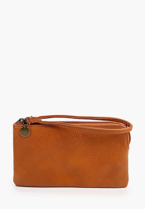 женский кошелёк rip curl, коричневый