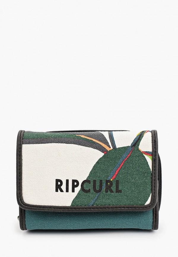 женский кошелёк rip curl, зеленый