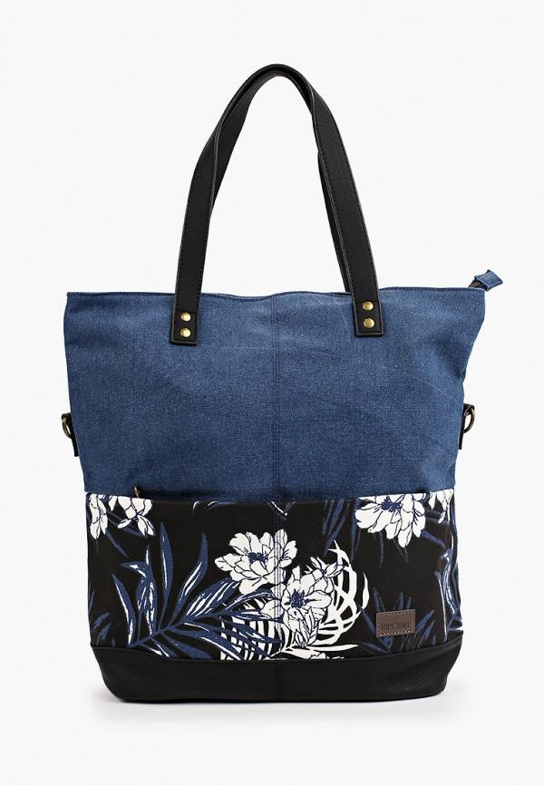 женская пляжные сумка rip curl, синяя