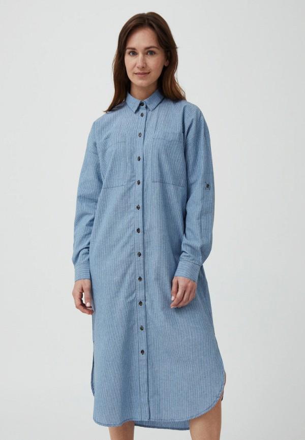 Платье Finn Flare синего цвета