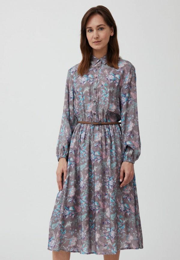женское платье-рубашки finn flare, коричневое