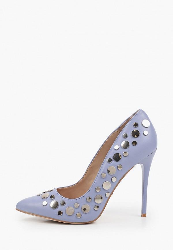 женские туфли-лодочки inario, фиолетовые