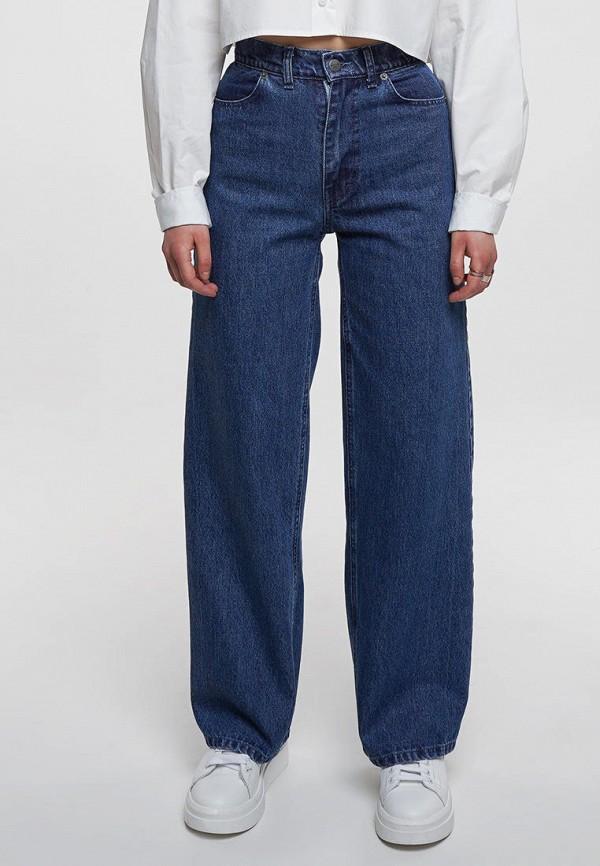 женские джинсы клеш whynotdenim, синие