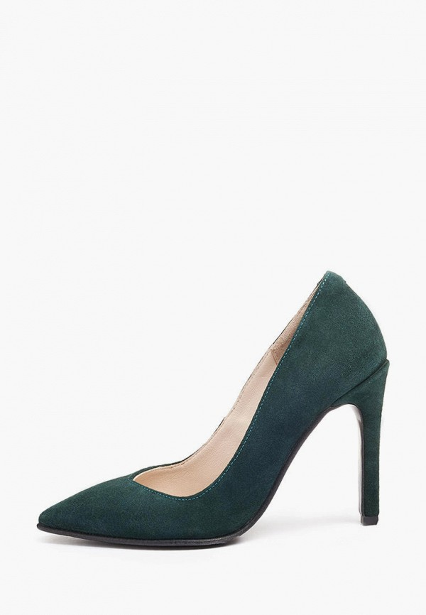 женские туфли emmelie delage, зеленые