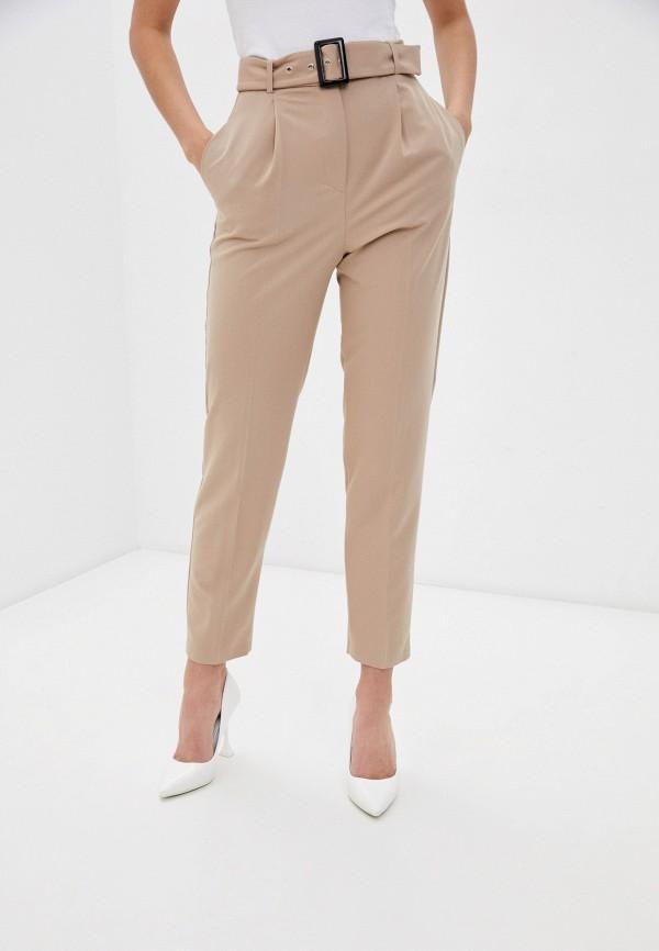 женские зауженные брюки vittoria vicci, бежевые