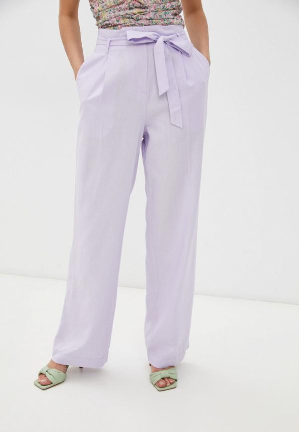 женские повседневные брюки vittoria vicci, фиолетовые