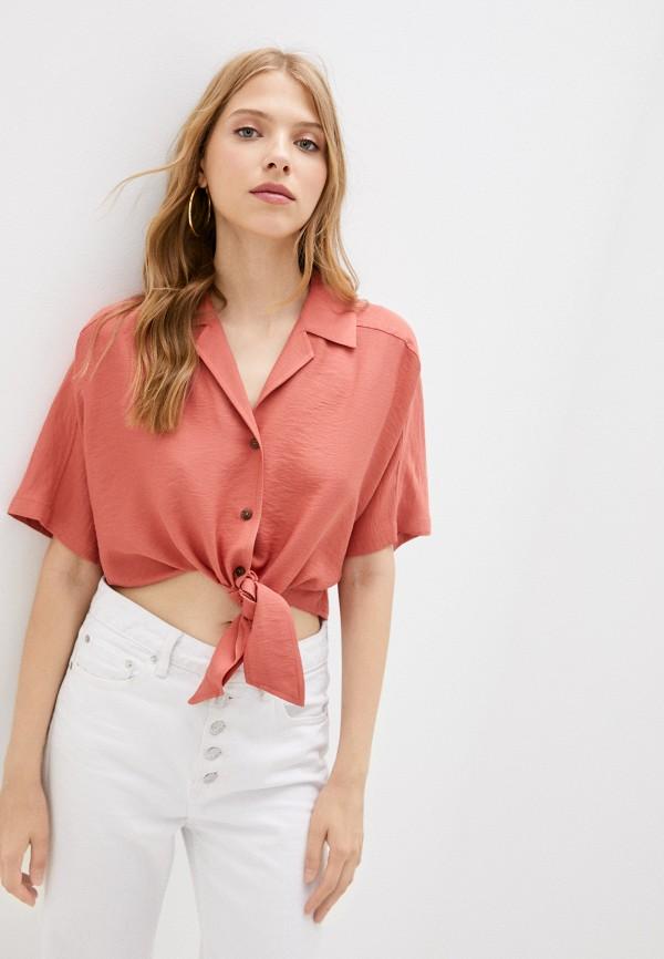 женская блузка с коротким рукавом vittoria vicci, красная