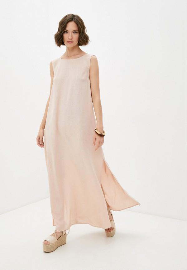 женское повседневные платье vittoria vicci, бежевое