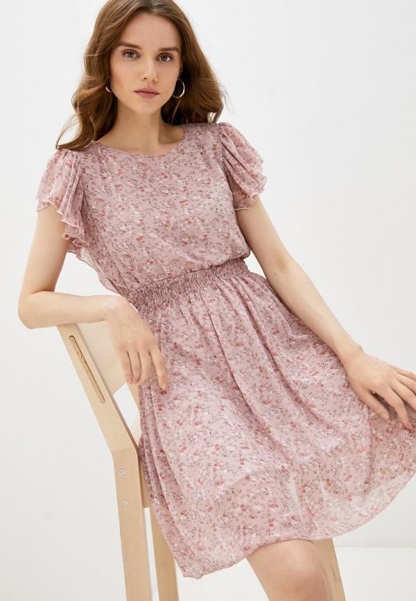 женское повседневные платье grafinia, розовое