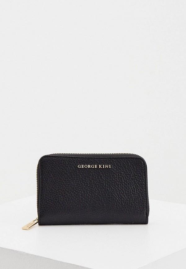 женский кошелёк george kini, черный