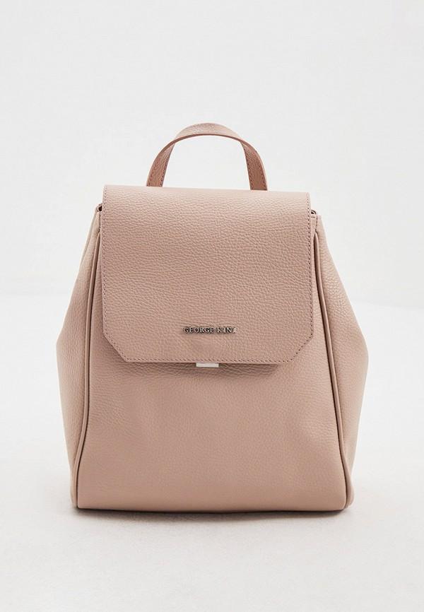 женский рюкзак george kini, бежевый