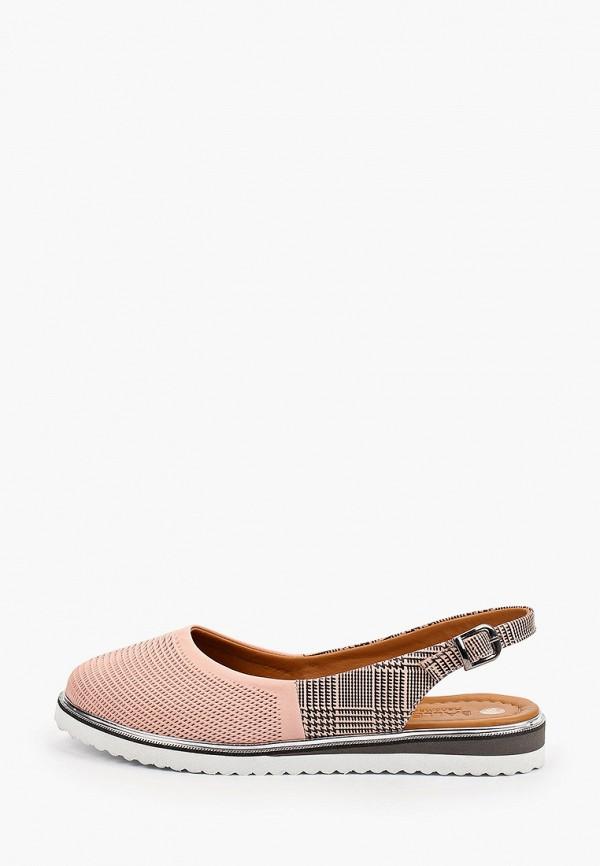 женские туфли love ballerin's, розовые