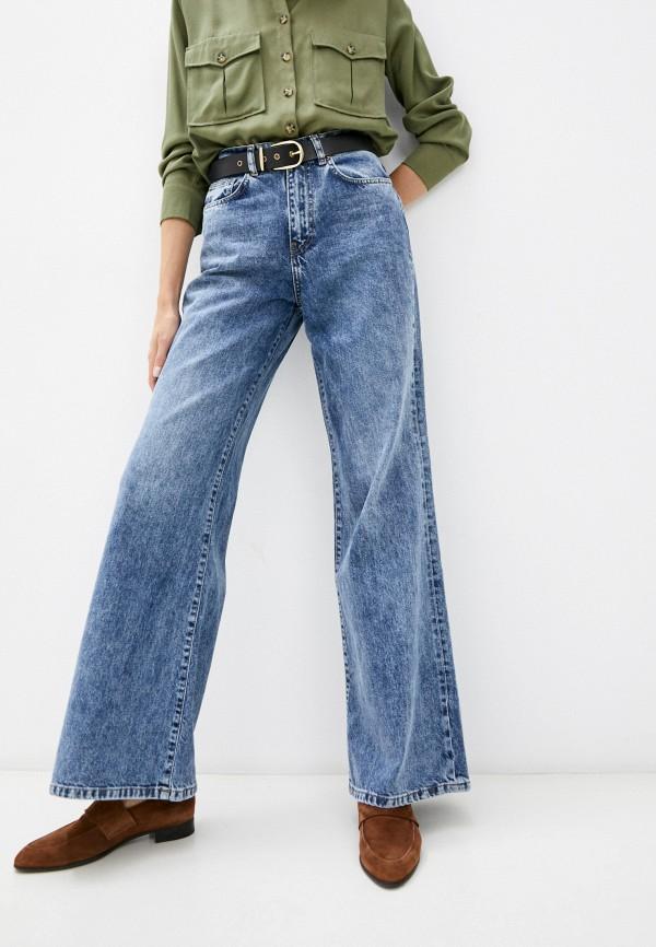 женские джинсы клеш bawer, синие