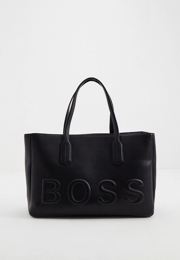 женская сумка-тоут boss, черная
