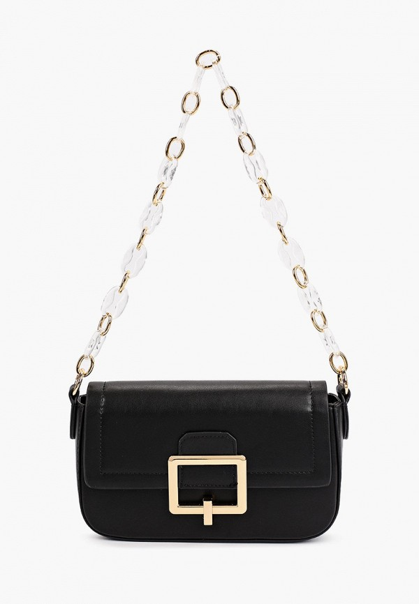 женская сумка с ручками love republic, черная