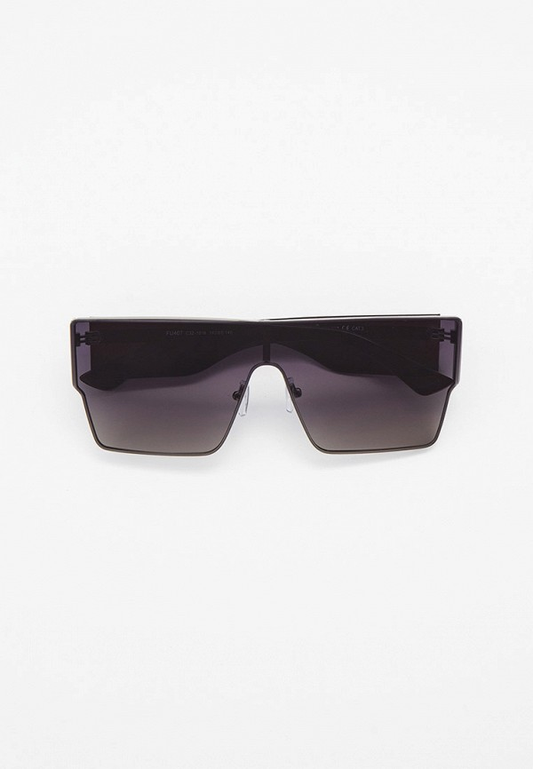 женские квадратные солнцезащитные очки furlux, серебряные