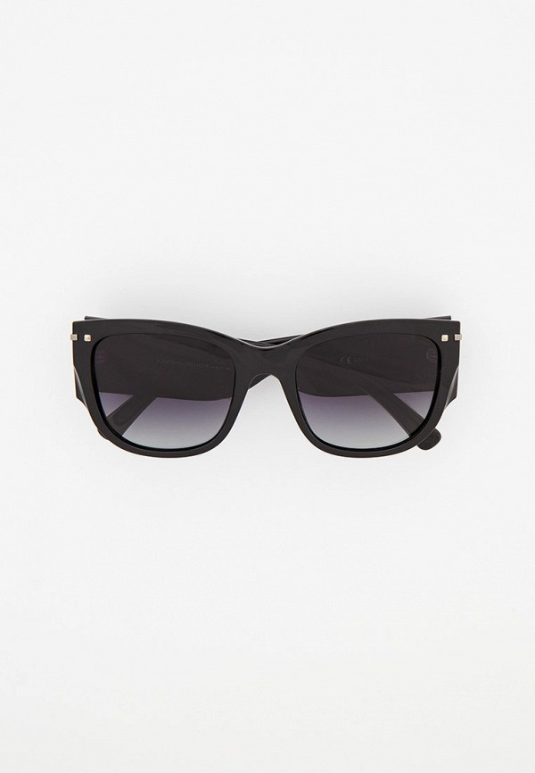 женские квадратные солнцезащитные очки katrin jones, черные