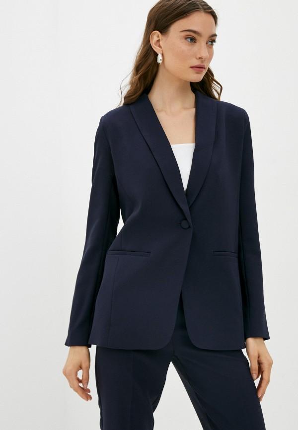 женский пиджак love republic, синий