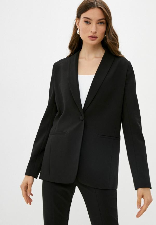 женский пиджак love republic, черный