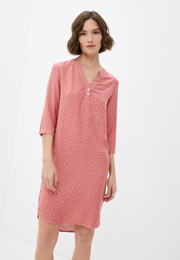 женское платье mark formelle, розовое