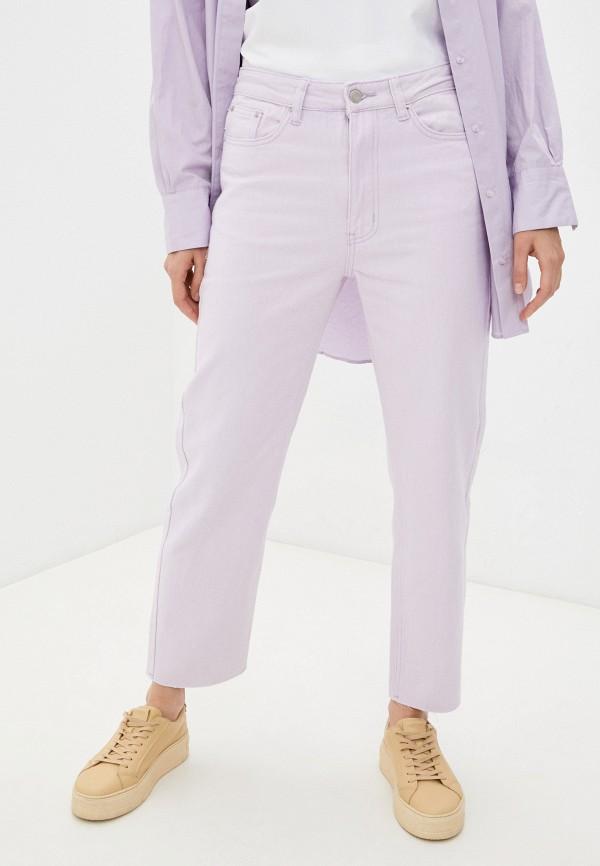 женские повседневные брюки mark formelle, фиолетовые