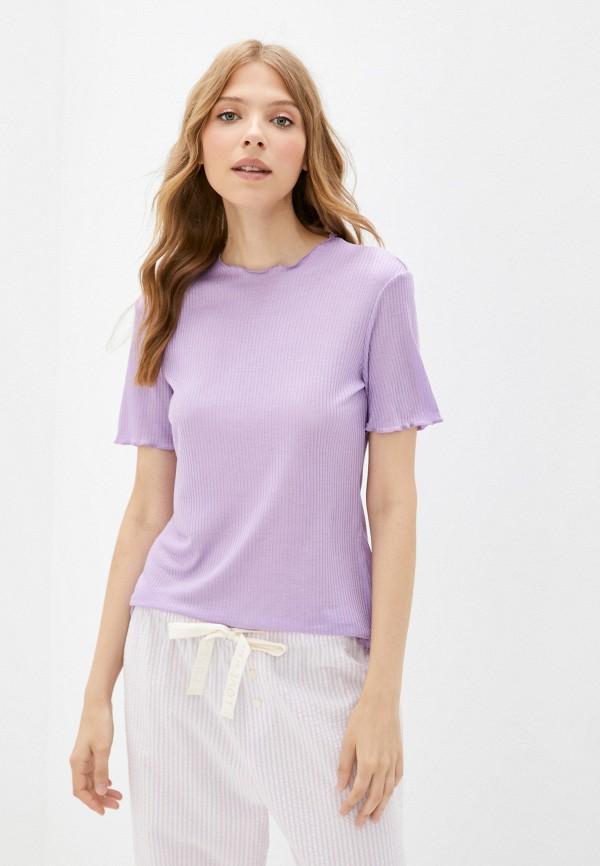 женская футболка tezenis, фиолетовая