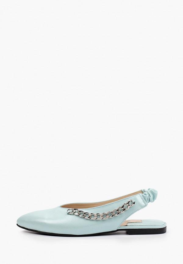 женские туфли figgi, бирюзовые