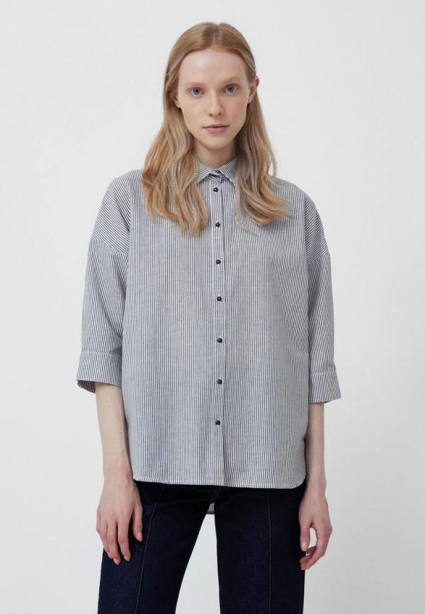 Рубашка Finn Flare серого цвета