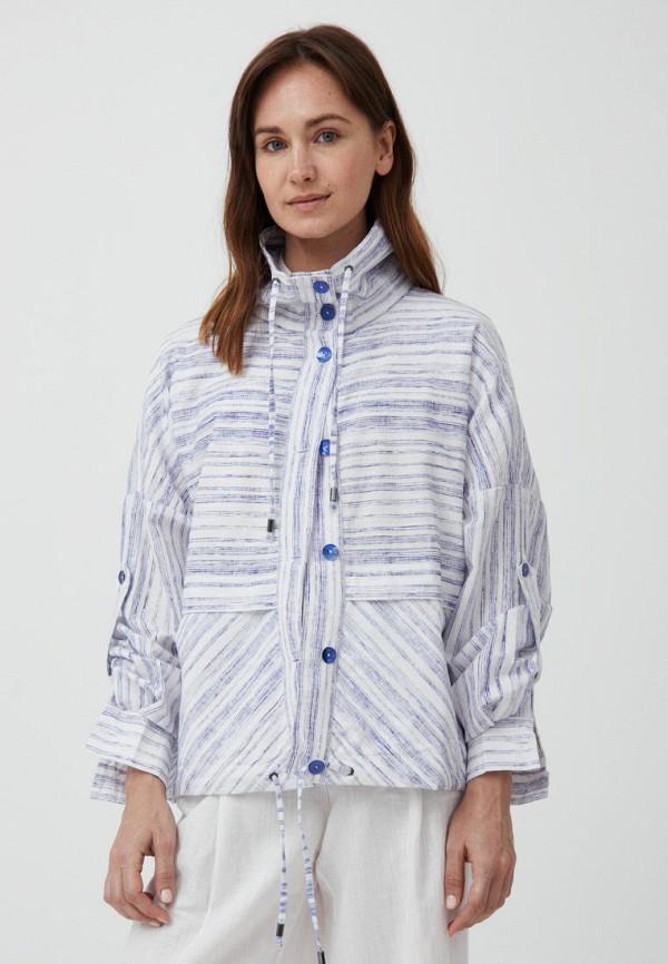 женская легкие куртка finn flare, синяя