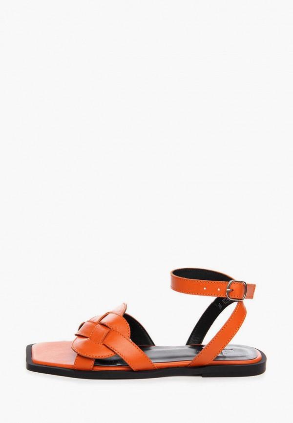 женские сандалии ditto, оранжевые