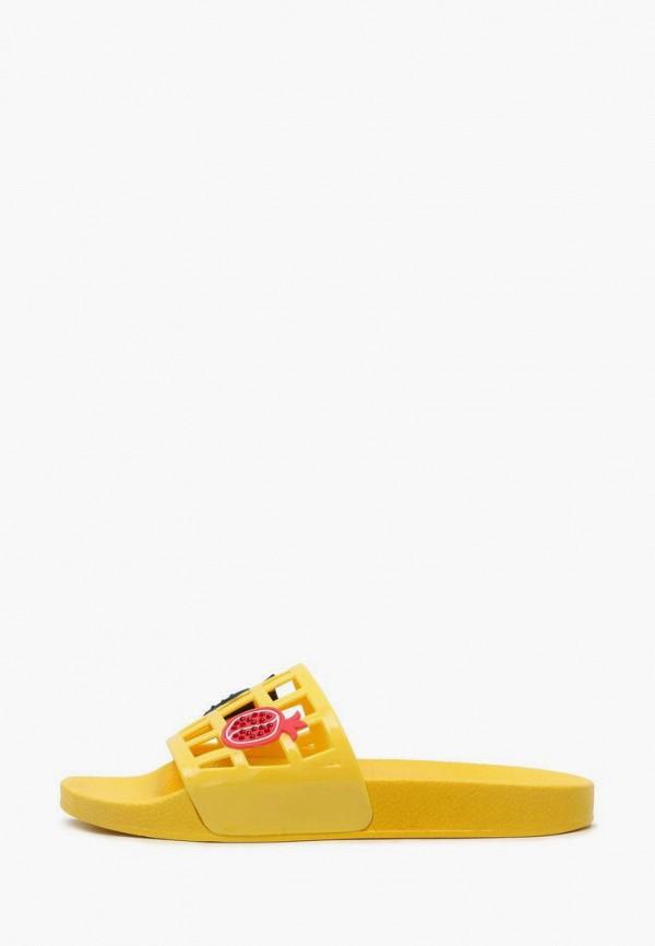 женские сланцы t.taccardi, желтые