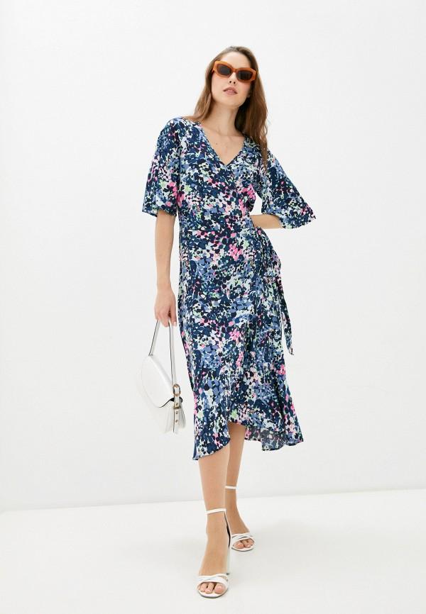 женское платье с запахом baon, разноцветное